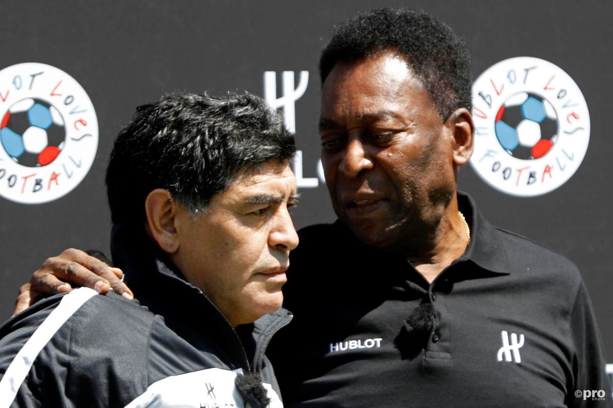 Maradona noemt Pelé een homo