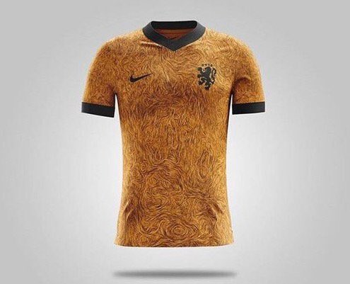 Nieuwe shirt Nederlands elftal Vincent van Gogh