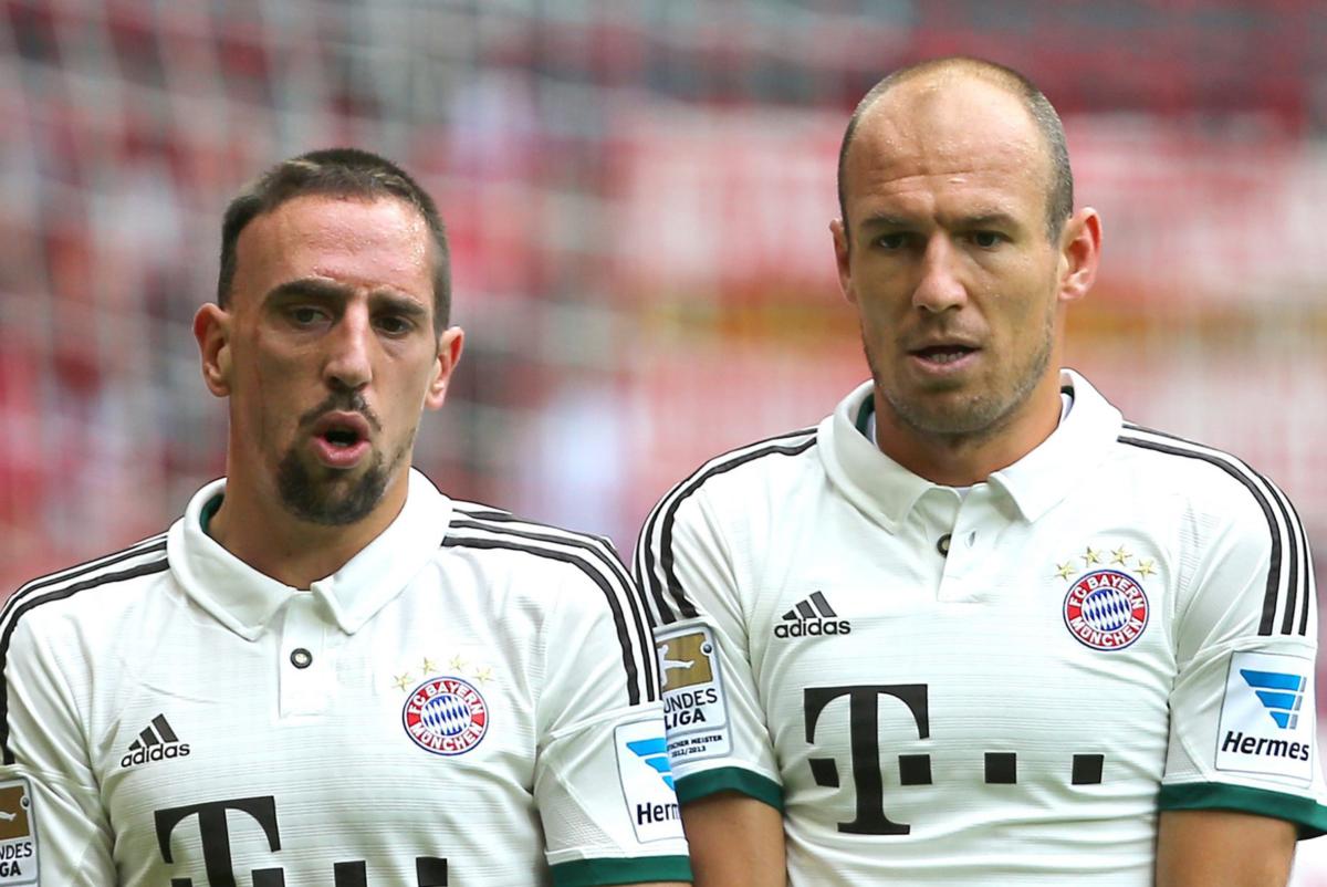 Robben en Ribery