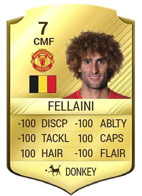 Marouane Fellaini FIFA 17