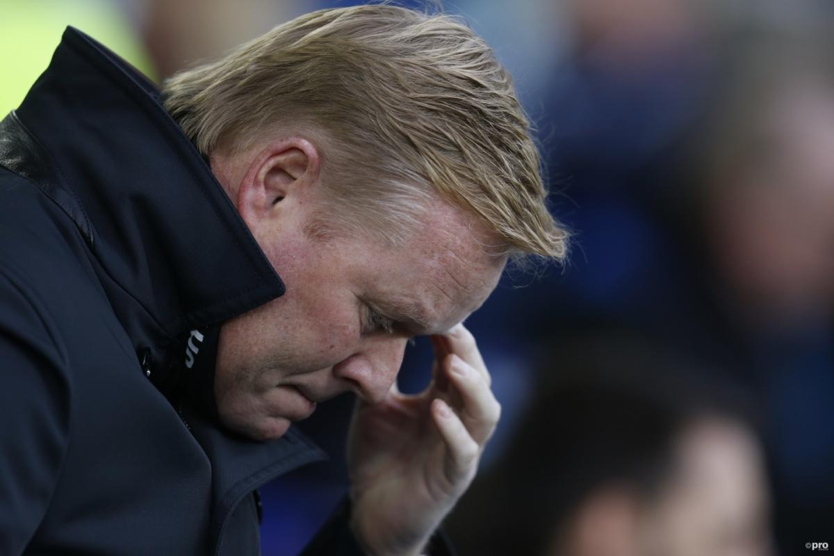 Fans Everton woest op Koeman, en je gelooft niet waarom