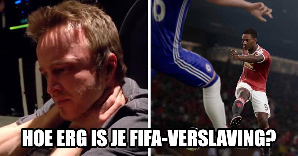 QUIZ: hoe erg is jouw FIFA-verslaving?