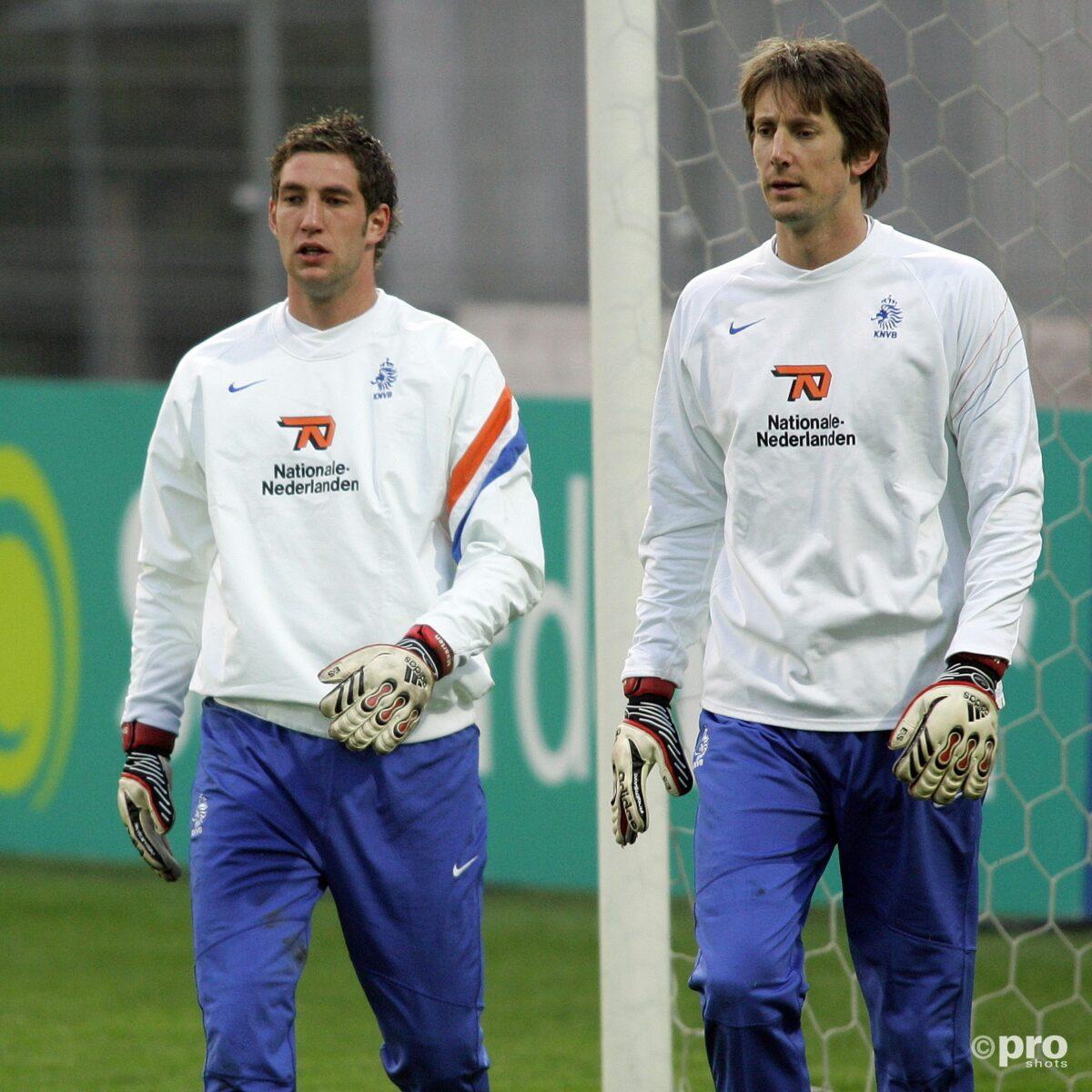 Arjen Robben en Maarten Stekelenburg