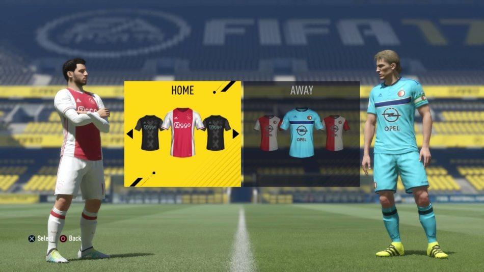 Grappig detail FIFA 17