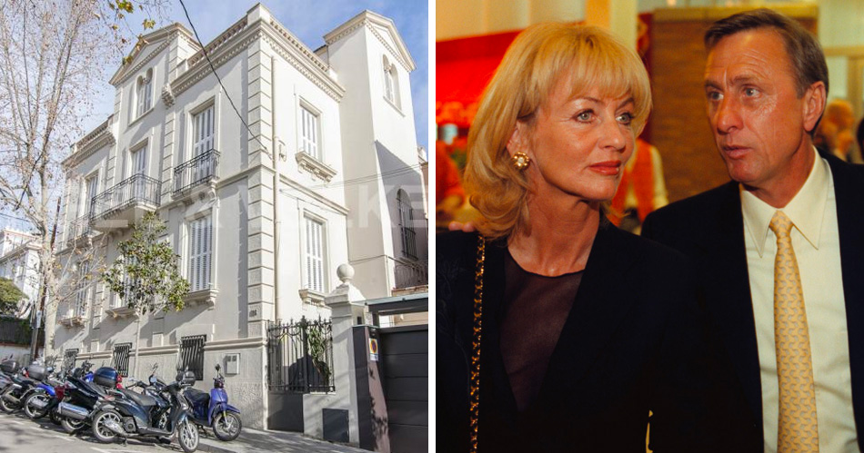 Peperdure villa Cruijff in Barcelona staat te koop