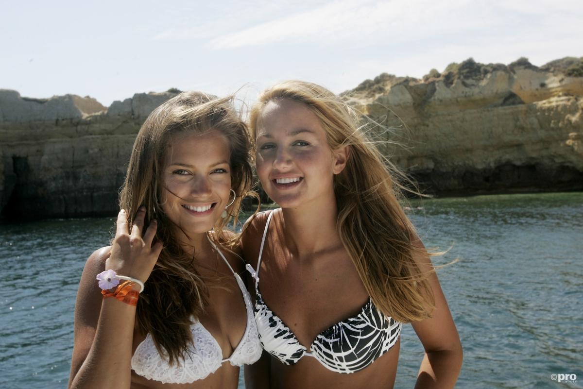 Sylvie Meis en Ramona Steekstra