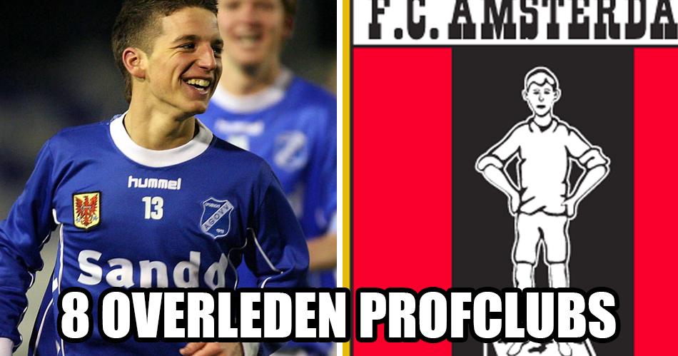 8 Nederlandse profclubs die niet meer bestaan