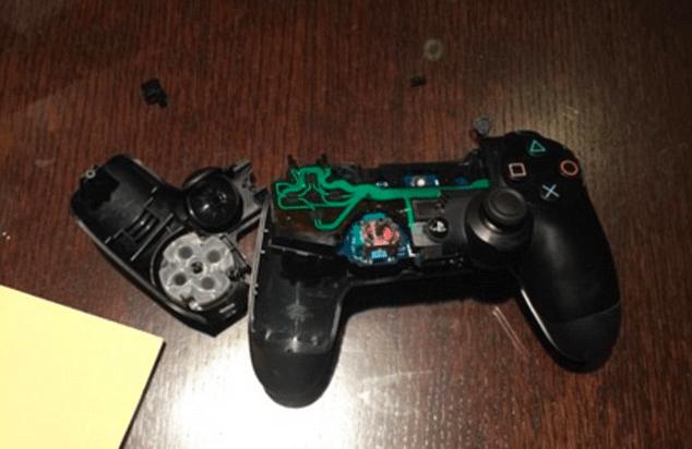 Kapotte PS4-controller