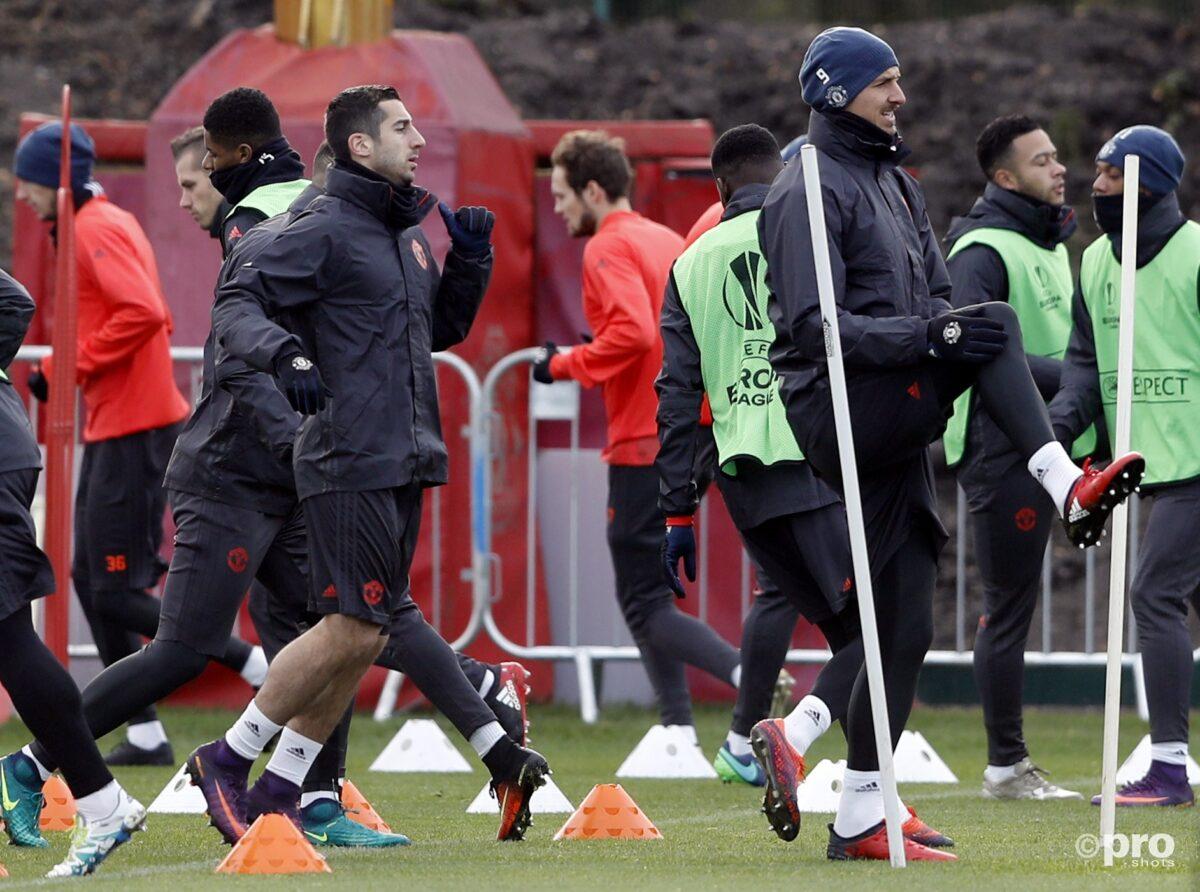 Het fabelachtige Man Utd trainingspak