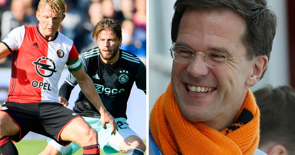 Rutte geeft antwoord: Ajax of Feyenoord?