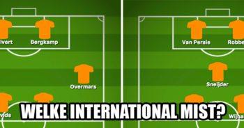 Weet jij welke speler mist in deze 7 legendarische Oranje-elftallen?