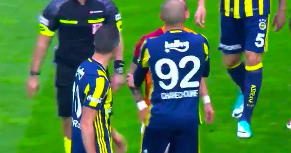 Sneijder en Van Persie geen vrienden: opstootje op het veld
