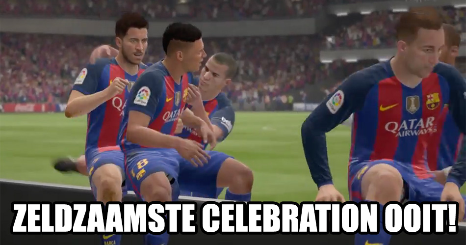 Niemand weet hoe je deze geheime celebration in FIFA 17 doet
