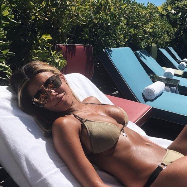 Rebecca Landin is de vriendin van Sam Larsson