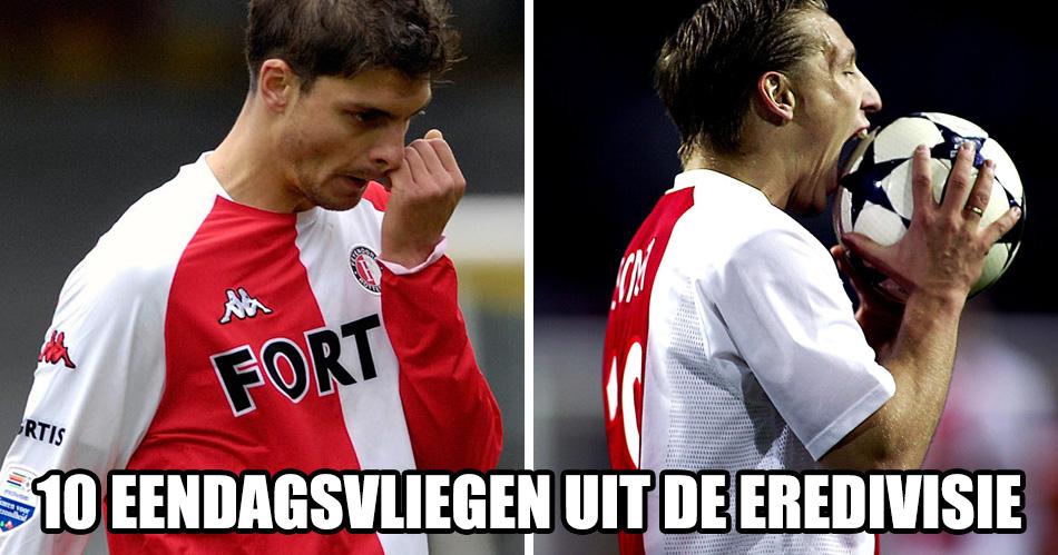 10 Eredivisie-spelers die een jaar geniaal waren, en daarna nooit meer