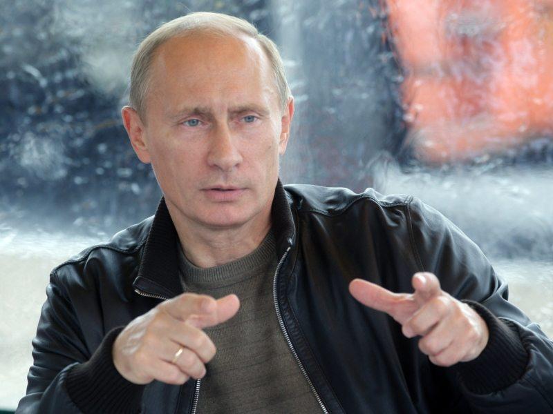 Vladimir Poetin Zenit St. Petersburg
