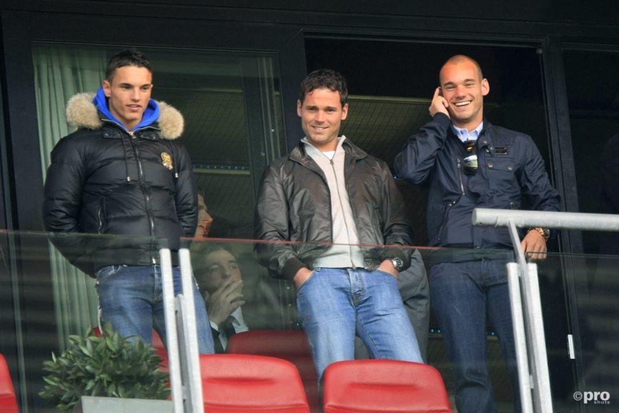 Rodney, Wesley en Jeffrey Sneijder