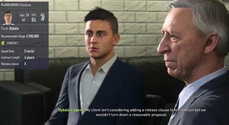 De nieuwe Career Mode van FIFA 18 ziet er fantastisch uit