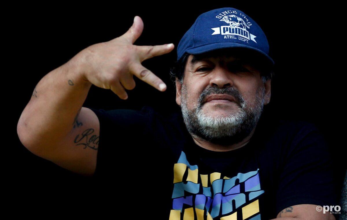 Hendriks: 'Maradona wilde me mee naar boven nemen'
