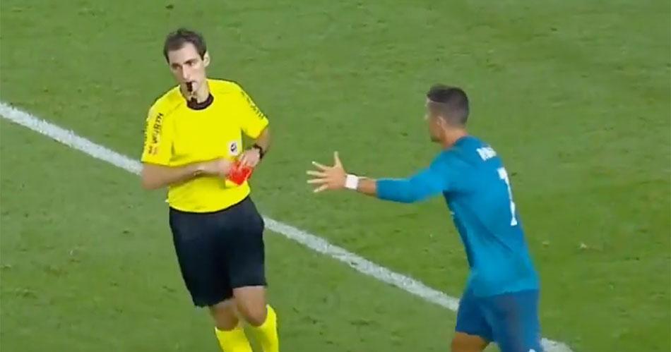 Deze brutale actie kan Ronaldo megaschorsing opleveren