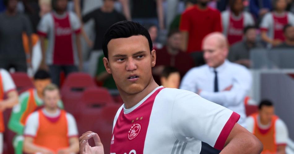 Ajax-spelers lijken voor geen meter in FIFA 18