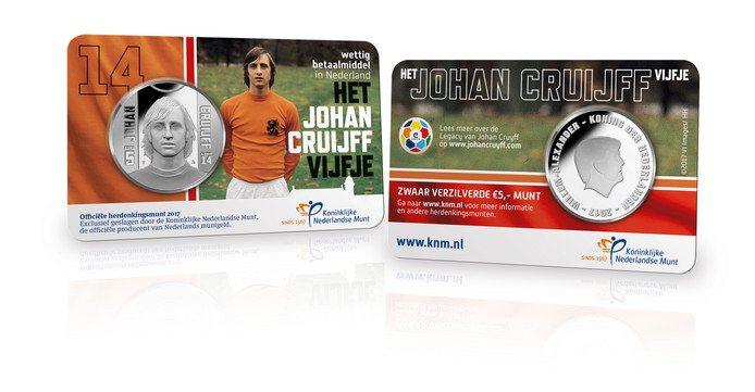 Johan Cruijff krijgt eigen munt