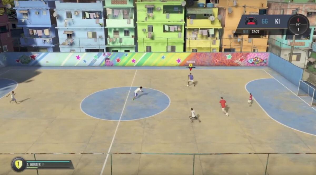 Eerste echte beelden van FIFA Street uitgelekt