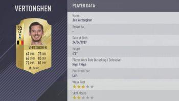 Beste spelers van FIFA 18, nummer 61 t/m 80