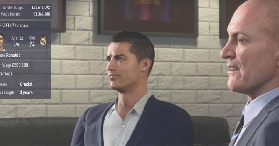 Kun je Ronaldo kopen met FC Barcelona in FIFA 18?