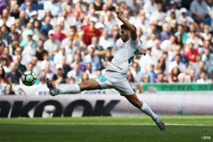 'Asensio kan niet voetballen door puist'