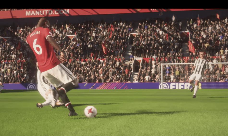 Ook in FIFA 18 is het kinderlijk eenvoudig om op deze manier te scoren