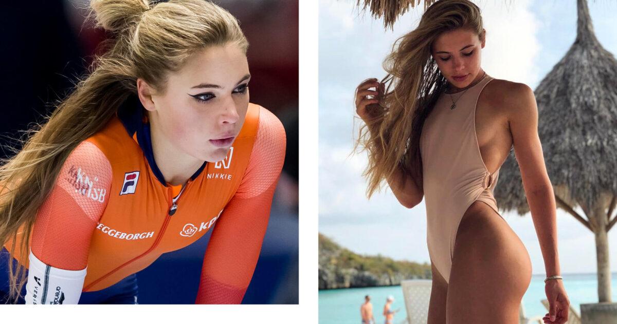 Een ode aan Jutta Leerdam, mooiste schaatster en vriendin van Koen Verweij