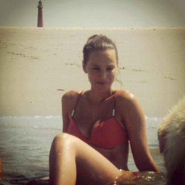 Jill de Robles is de vriendin van Kjeld Nuis