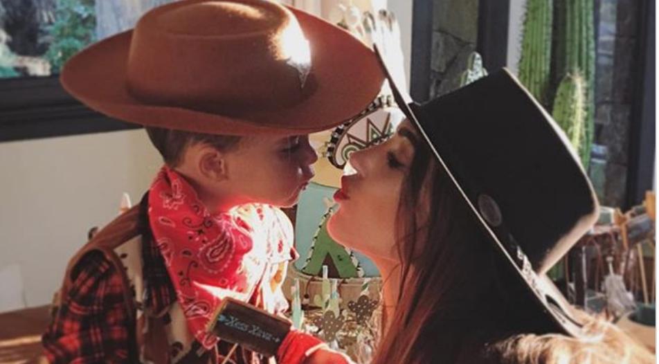 Super schattig: De cowboy-verjaardag van Xess Xava
