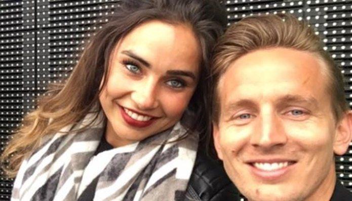 Lizanne van Zutven is de vriendin van Luuk de Jong