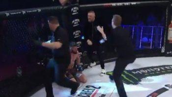 MMA-vechter McGregor gaat scheids te lijf