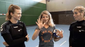 Tess Wester schaakt de voetballende ex van Estavana Polman