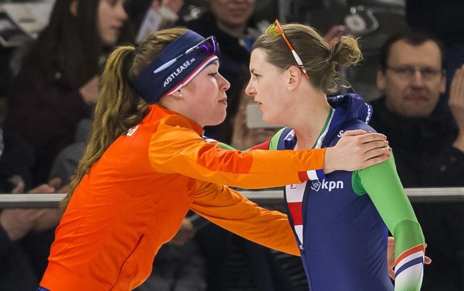 Antoinette de Jong en Ireen Wüst