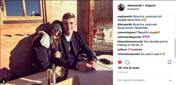 Dilara, vriendin Max Verstappen
