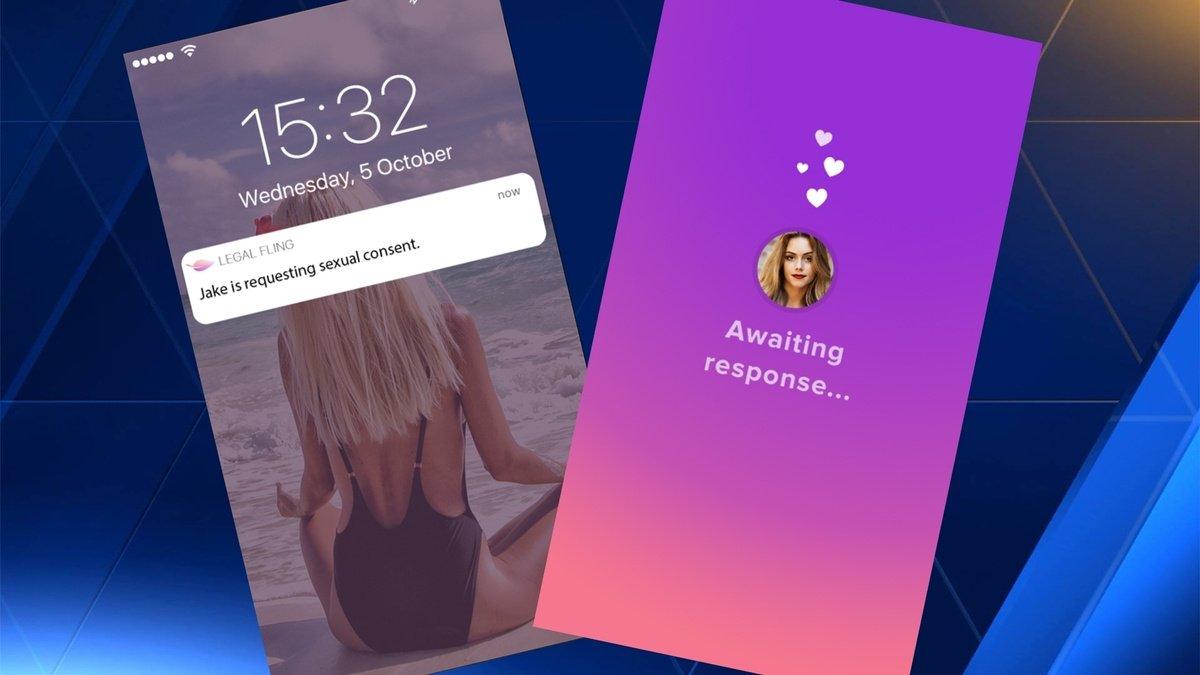 Met deze app vraag je je date toestemming om in bed te duiken
