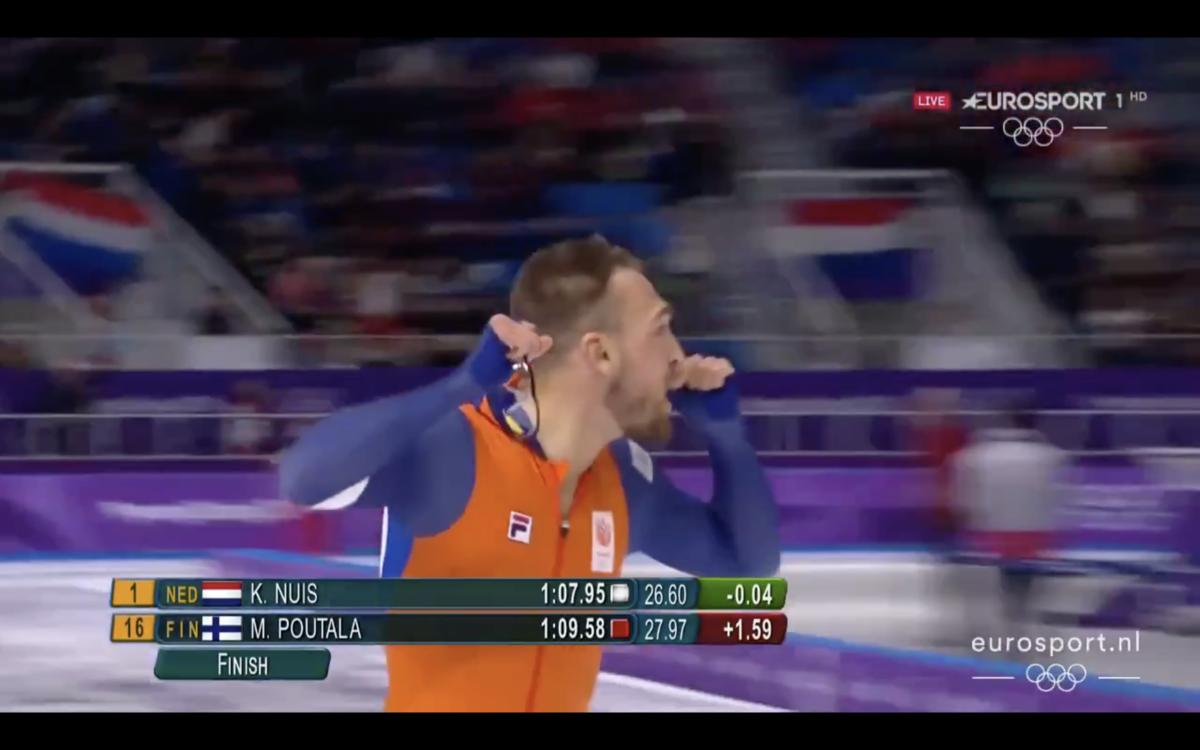 De dubbel voor Nuis: ook goud op 1.000 meter