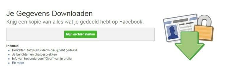 Jouw Facebook-dossier