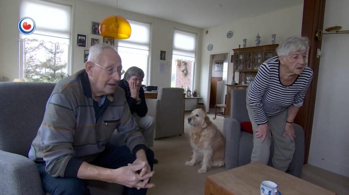 Ontroerende beelden: opa en oma Schulting in tranen na goud