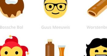 Je kunt binnenkort een Roy Donders-emoji gebruiken op Facebook