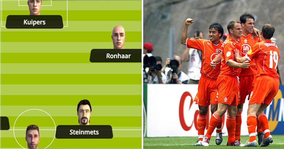 Bert Ronhaar? Kuipers? Het verhaal achter het neppe Oranje van FIFA 08