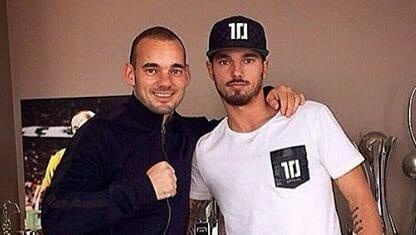 Wesley Sneijder en Rodney Sneijder