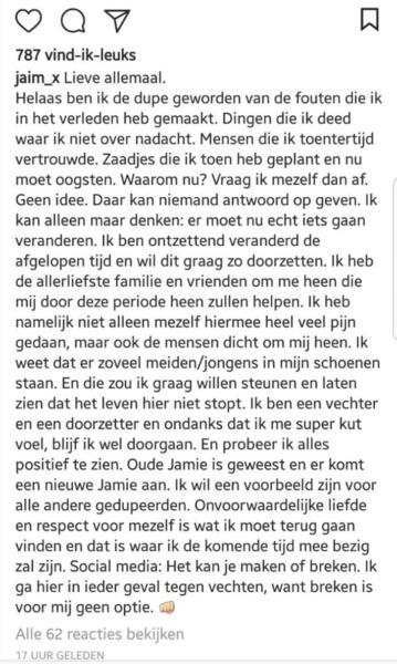 Zijn er echt pikante beelden van dochter Frank de Boer uitgelekt