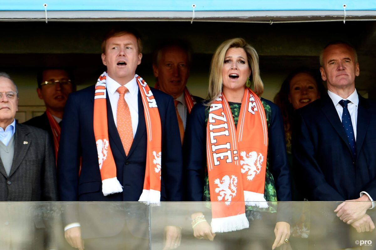 """De favoriete Eredivisieclub van de koning: """"Hij is 100% fan"""""""