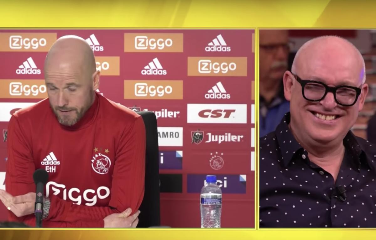 """Gijp lacht Erik ten Hag keihard uit: """"Kostelijk"""""""