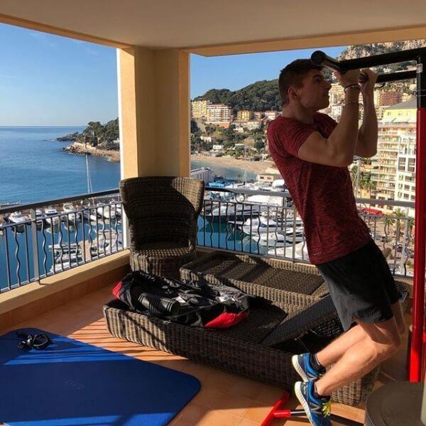Het huis van Max Verstappen in Monaco
